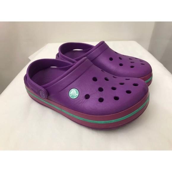 dd54f7442 CROCS Shoes - CROCS Classic Unisex Purple Clogs Shoes